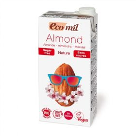 Ecomil Almond Milk Sugar-Free 1L x6