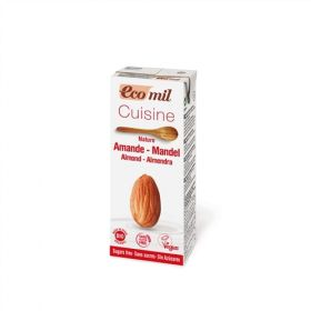 Ecomil Almond Cuisine Cooking Cream 200ml x24
