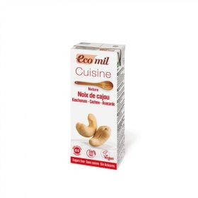 Ecomil Cashew Cuisine Sugar-Free Cooking Cream 200ml x24