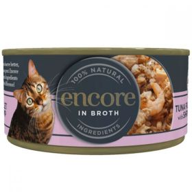 Encore Cat Food Tuna & Shrimp 70g x16