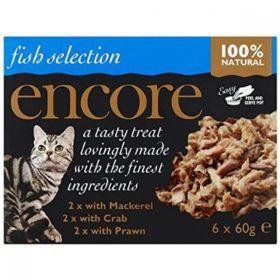 Encore Cat Food Ocean Fish Multipack (Can) (70g x8) x1