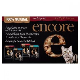 Encore Cat Food Mixed Multipack (Pouch) (70g x 6) x6