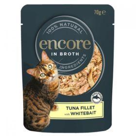 Encore Cat Food Pacific Tuna & Whitebait (Pouch) 70g x16