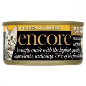 Encore Cat Food Chicken & Cheese (Can) 70g x18