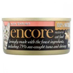 Encore Cat Food Tuna & Shrimp (Can) 70g x18