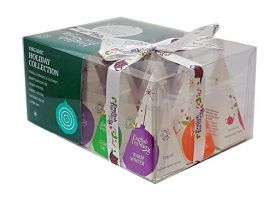 English Tea Holiday Green Prism x1