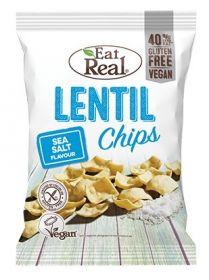Eat Real Sea Salt Lentil Chips 22g x24