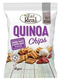 Eat Real Sundried Tomato and Roasted Garlic Quinoa Chips 30g x12