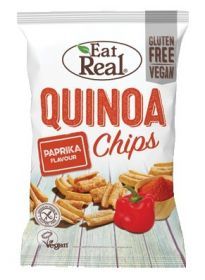 Eat Real Paprika Quinoa Chips 30g x12