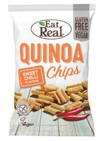 1- Eat Real Sweet Chilli Quinoa Chips 30g x12