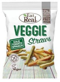 1004 - Eat Real Kale, Tomato, Spinach and Potato Veggie Straws 45g x12