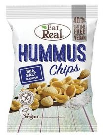 Eat Real Sea Salt Hummus Chips 135g x10