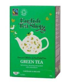 English Tea ORG & FT Green Tea 40g (20s) x6