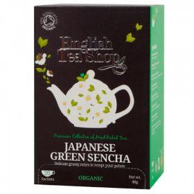 English Tea ORG Green Sencha 40g (20s) x6