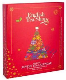 English Tea Red Advent Calendar Puzzle x1