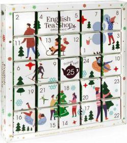 English Tea White Ornaments Advent Calendar Puzzle x1