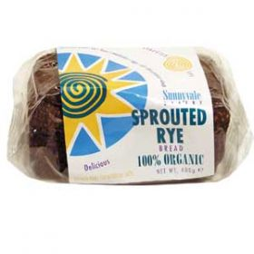 Everfresh Organic Sprouted Rye Bread 400g x8