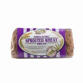 Everfresh Organic 100% Sprouted Wheat Bread 400g x8