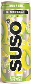 SUSO Lemon & Lime 24x250ml