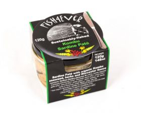 Fish 4 Ever Sardine Pate with Organic Kombu Seaweed 120g x6