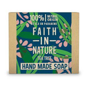Faith in Nature Soap Tea Tree 6x100g