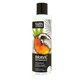 Faith in Nature Brave Botanicals Shampoo Coconut & Frangipani 6x250ml