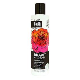 Faith in Nature Brave Botanicals Shampoo Rose & Neroli 6x250ml