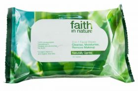 Faith in Nature Facial Wipes 12x25pk