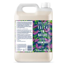 Faith in Nature 5L Body Wash Lavender & Geranium 1x5l