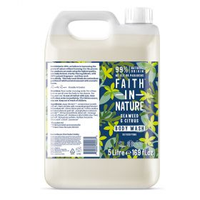 Faith in Nature 5L Body Wash Seaweed 1x5l