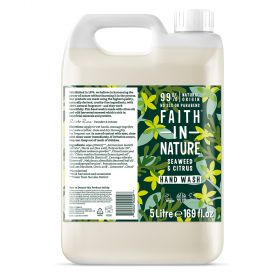 Faith in Nature 5L Hand Wash Seaweed 1x5l