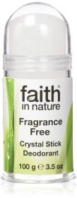 Faith in Nature Deodorant Crystal Stick 6x100g