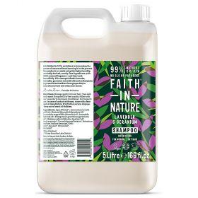 Faith in Nature Lavender & Geranium Shampoo 1x5L