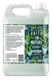 Faith in Nature Rosemary Shampoo 1x5L