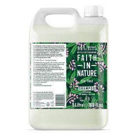 Faith in Nature Tea Tree Shampoo 1x5L
