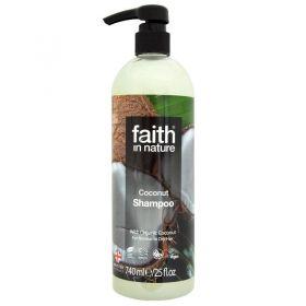 Faith in Nature Coconut Shampoo 6x740ml