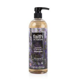 Faith in Nature Lavender & Geranium Shampoo 6x740ml