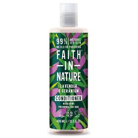 Faith in Nature Lavender & Geranium Conditioner 6x400ml