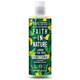 Faith in Nature Lemon & Tea Tree Conditioner 6x400ml