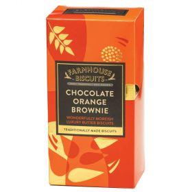 Farmhouse Lux Choc Orange Brownie 150g x12