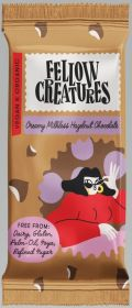 Fellow Creatures Creamy Milkless Hazelnut Chocolate 10x70g