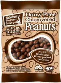 Fabulous Freefrom Factory Chocovered Peanuts (Dairy Free) 65g x12