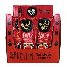 Good4u Tandoori Crunch Veggie Protein Shots 25g x20