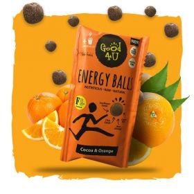 1001 - Good4u Cocoa & Orange Energy Balls 30g x16