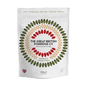 The Great British Porridge Co. Red Berry & Pumpkin Seed 380g x4