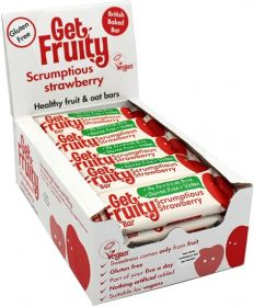 PROMO Get Fruity Scrumptious Strawberry Fuit and Oat Bar 35g x25
