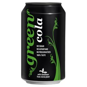 Green Cola Cans 330ml x24