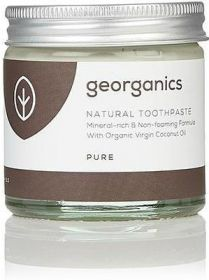 Georganics Pure Coconut Mineral-Rich Toothpaste 60ml x10