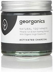 Georganics Activated Charcoal Mineral-Rich Toothpaste 60ml x10