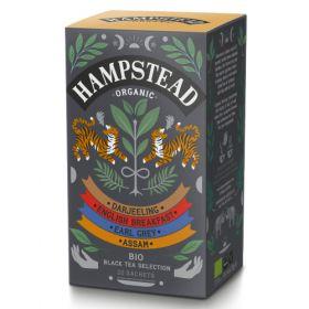 Hampstead Organic Black Tea Selection (individually wrapped) 42g x4